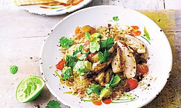 Spicy Chicken with Savoury Rice