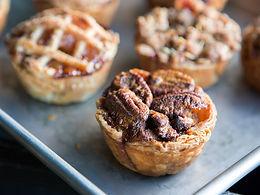 Cranberry, Orange & Pecan Pies