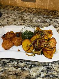 Masala Lamb & Spicy Potatoes