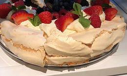 Summer Fruit Pavlova