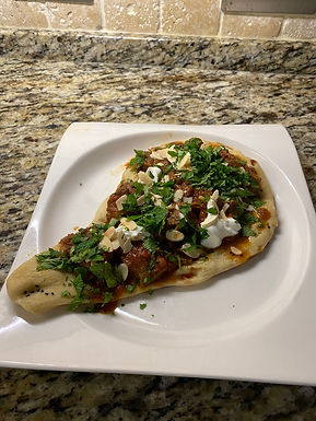 Spiced Lamb with Naan
