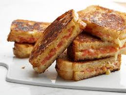 Awesome Toasted Cheese & Tomato Sandwich