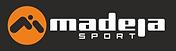 logo MADEJA sportu 2018 - dlouhé bílé na