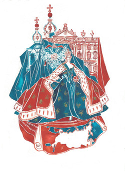 Catherine The Great. Selected for the In The History exhibit by The Artist Lounge 2021