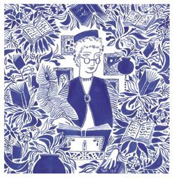 The Anthologist. Shortlisted for Anthology magazines Cover Art Award.
