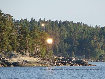 Leading lights at Seili,  Finland