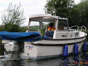 Petrol outboard motor