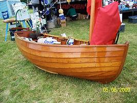 Clinkeer dinghy