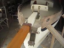 Gammon iron on Bristol Channel Pilot Cutter