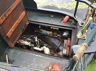 Inboard diesel engine