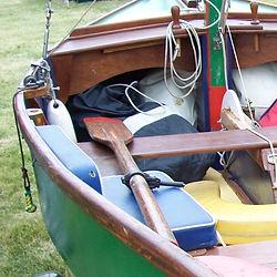 Oars rowlocks
