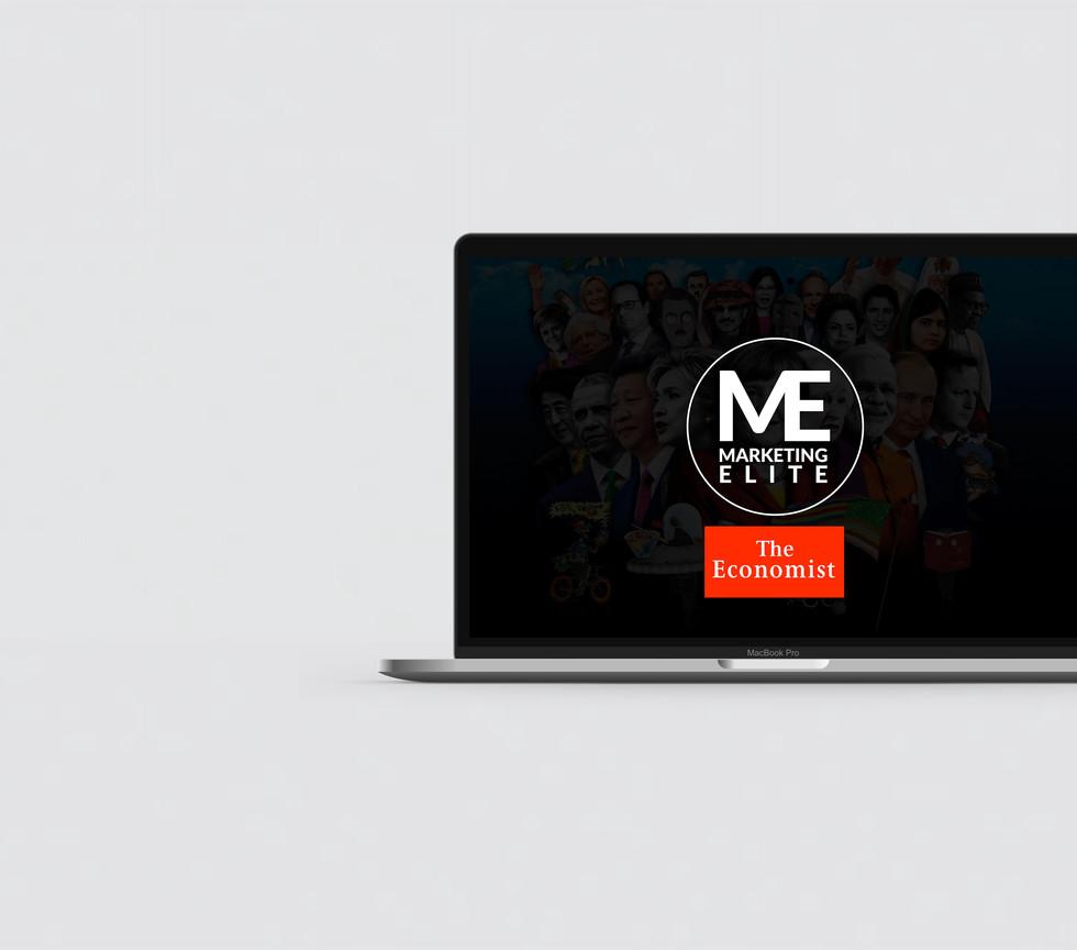 Marketing Elite Presentation Design by E