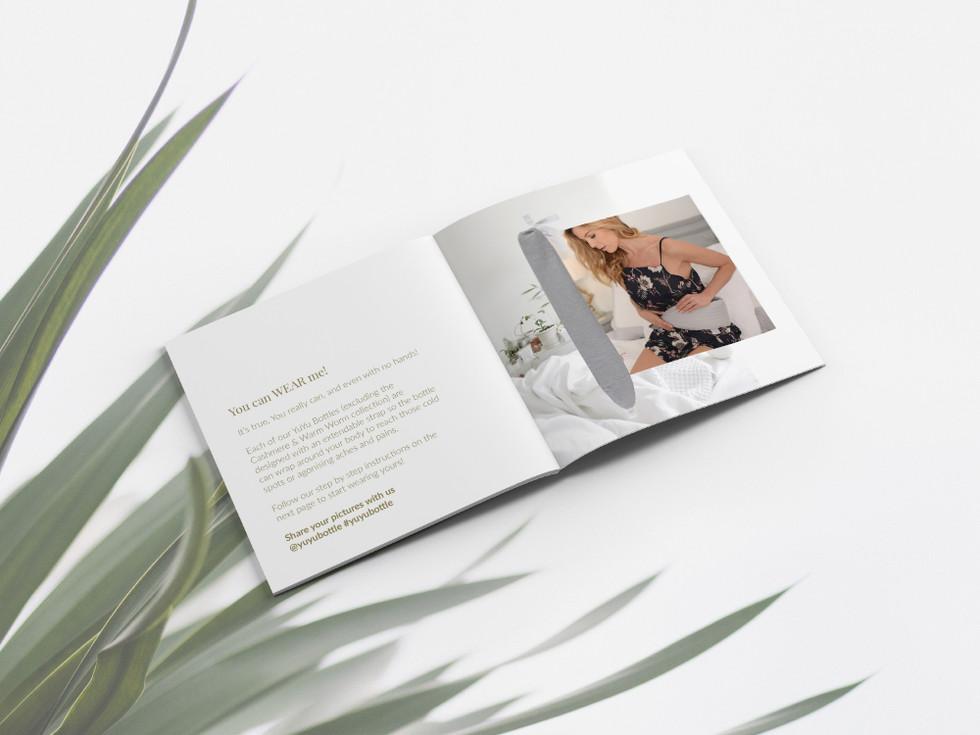 YuYu YuYu Bottle Booklet Design by Emmal
