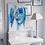 "Thumbnail: Turquoise Dreams - 30x20"" Print on Canvas"