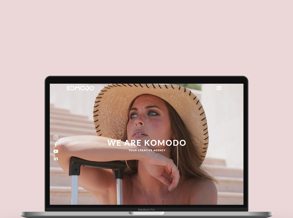 Website Design x Komodo by EmmaleenaGrim
