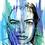 Thumbnail: Eyes of Blue - A4 Print