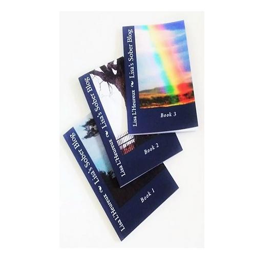 The Lisa's Sober Blog Books Gift Pack Paperback