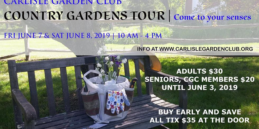 """Carlisle GC, """"Come to your Senses"""" Carlisle Country Gardens"""