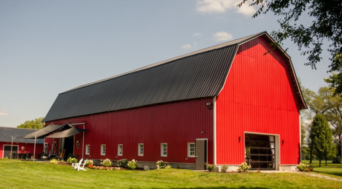 Red-barn-blue-sky