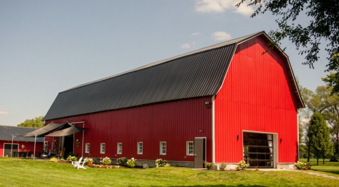 Red-barn-blue-sky