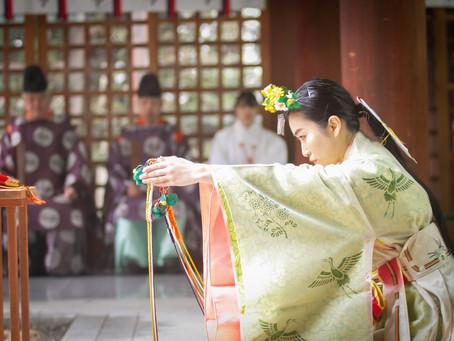 2/9(日)・2/18(火) こころ安らかに巫女舞ワークショップ