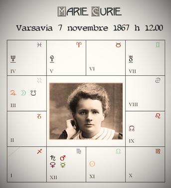 Il Tema Natale di Marie Curie