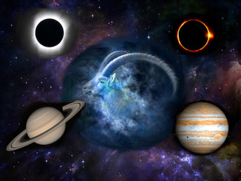 Eclissi e congiunzione Giove/Saturno