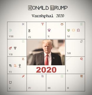 Donald Trump - Varshphal 2020