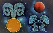 Sole in Ariete e Marte in Gemelli