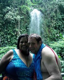 waterfall, Nunung