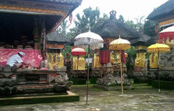 Galungan (New Year) ceremony