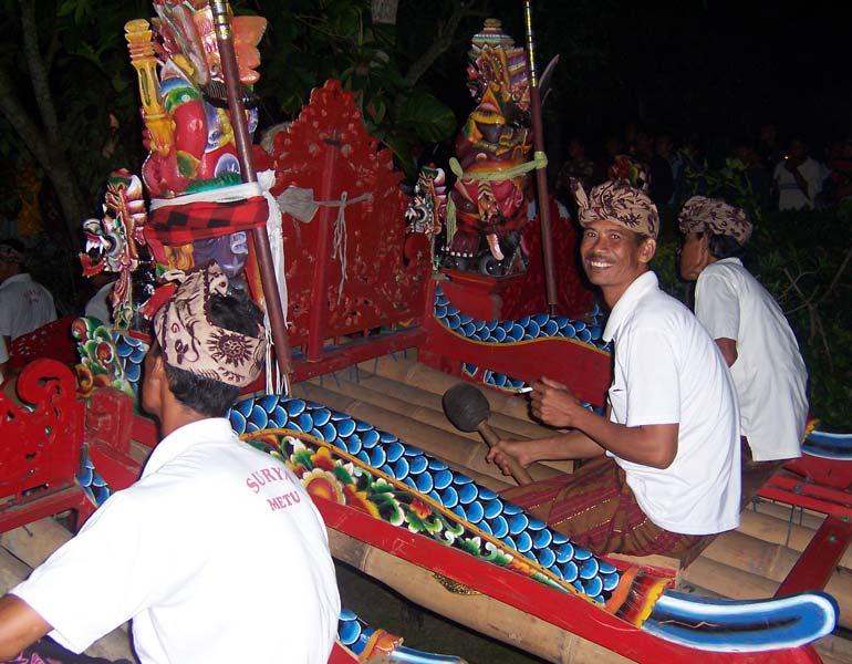 jegog performance, Negara