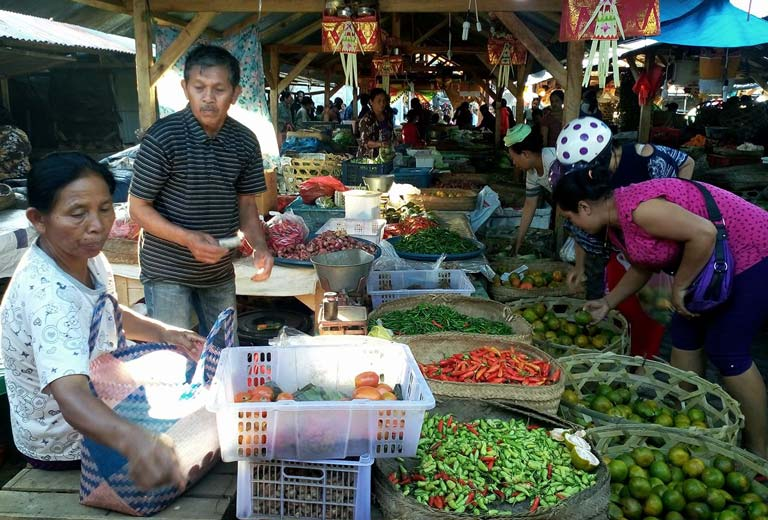 traditional market, Payangan