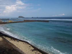 Candidasa beach
