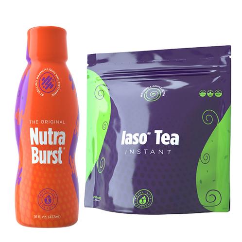 Nutraburst & Original Iaso Tea