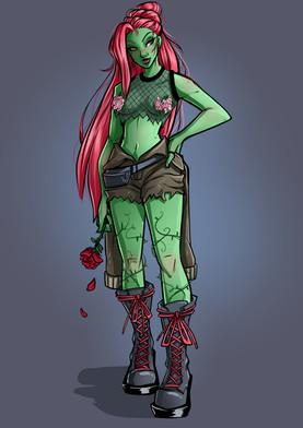 Gotham City Sirens - Poison Ivy