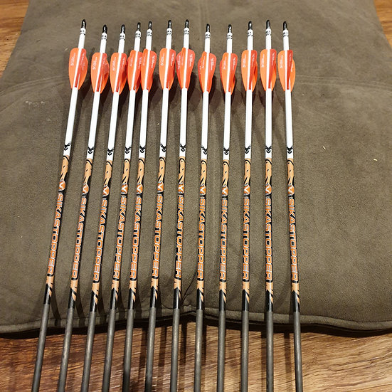 3 Fletch Custom arrows Price per 12