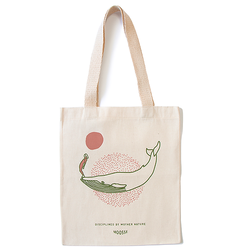Ecobag Disciplined by Mother Nature - Baleia