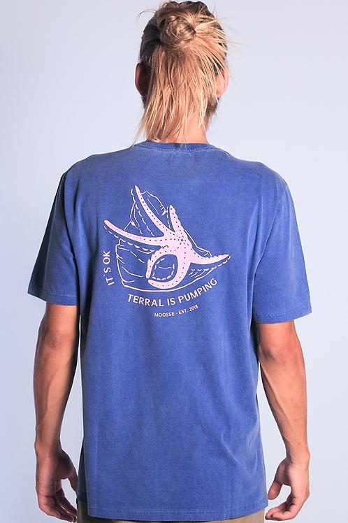 Camiseta Starfish Azul Royal