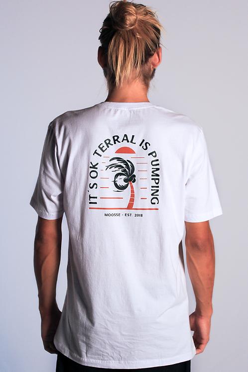 Camiseta Terral is Pumping Branca