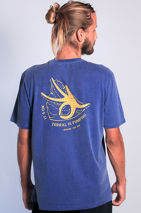 Camiseta Starfish Azul Royal