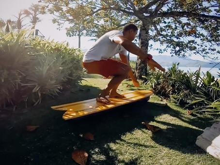 TREINO PARA SURF COM BALANCE BOARD