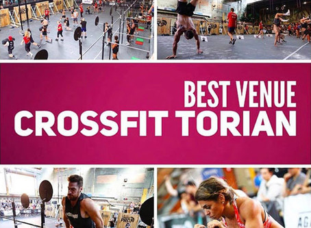"""CrossFit Torian Voted """"Best Venue for 2017"""""""