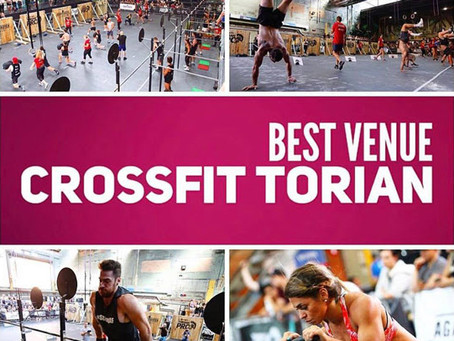 "CrossFit Torian Voted ""Best Venue for 2017"""