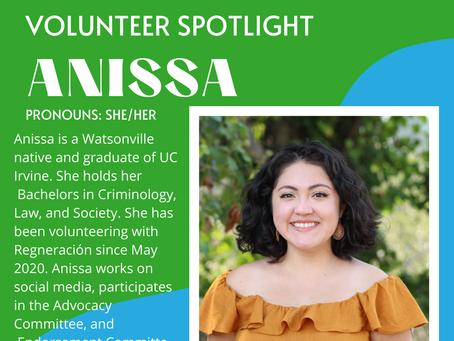 Volunteer Spotlight: Anissa