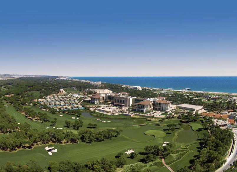 Regnum Carya, Golf Turecko