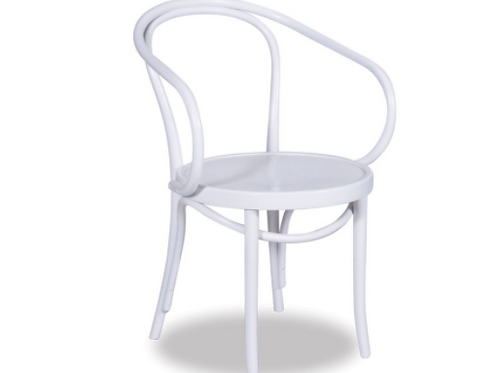 Bentwood B9 Armchair - White