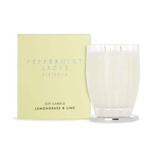 LEMONGRASS & LIME LUX CANDLE