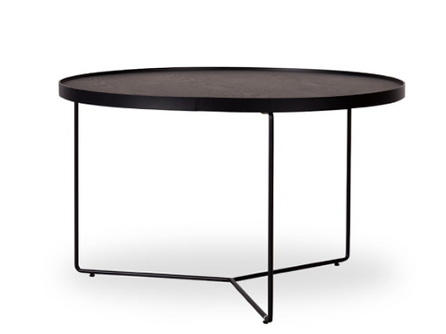 Alora Coffee Table - Black - Black - Medium