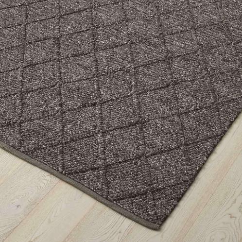 Mitre Floor Rug - Basalt